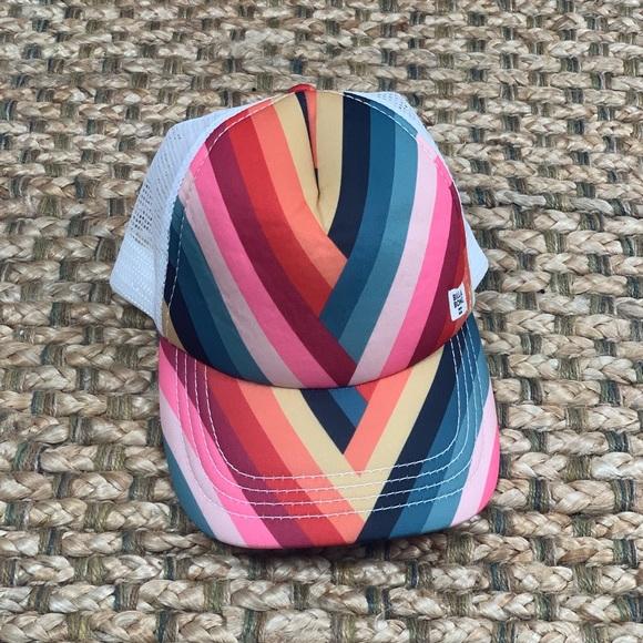 Billabong Accessories - Billabong • Rainbow Stripe Trucker Hat